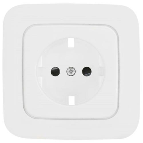 Komplett-Steckdosenplatte, UP, reinweiß, Klein SI®