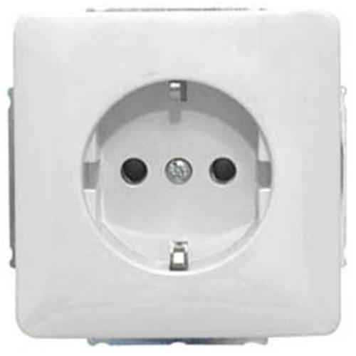 Kombi-Steckdose, UP, weiß, passend für Jung-ST550