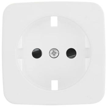 Kombi-Steckdosenplatte, UP, reinweiß, Klein SI®