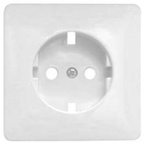 Kombi-Steckdosenplatte, UP, reinweiß, passend für Jung-ST550