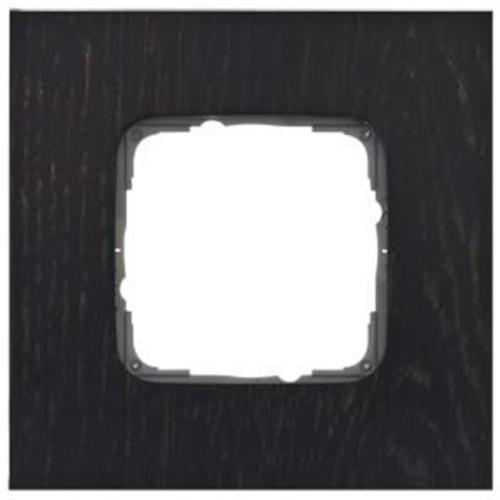 Abdeckrahmen, 1-fach, Holz, Eiche Wenge, Klein SI®