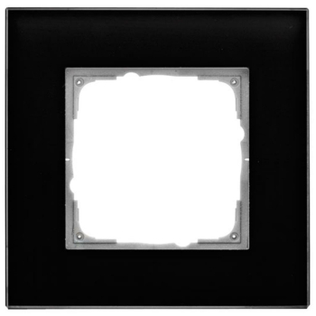 Glasrahmen, 1-fach, schwarz, Klein K55