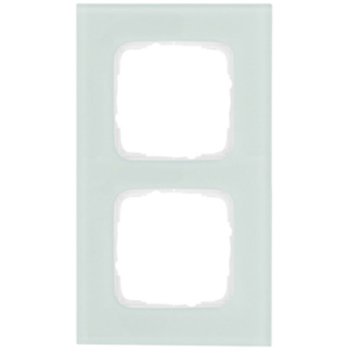 Glasrahmen, 2-fach, Glas mint, Klein SI®