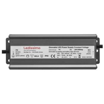 LED Netzteil, 12V-DC/48-80W, Ledissimo LM12080dp