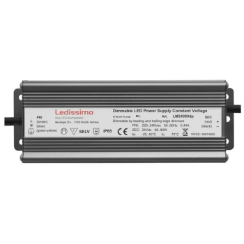 LED Netzteil, 24V-DC/48-80W, Ledissimo LM24080dp