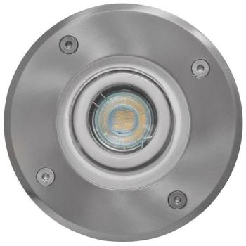 Erdeinbauleuchte Edelstahl rund, befahrbar, 1 x GZ10,...