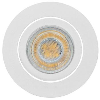Einbauleuchte weiß, rund 1 x GX5,3/12V, weiß,...