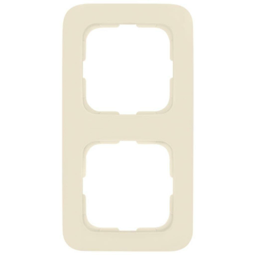 Abdeckrahmen, 2-fach, weiß, Klein SI®