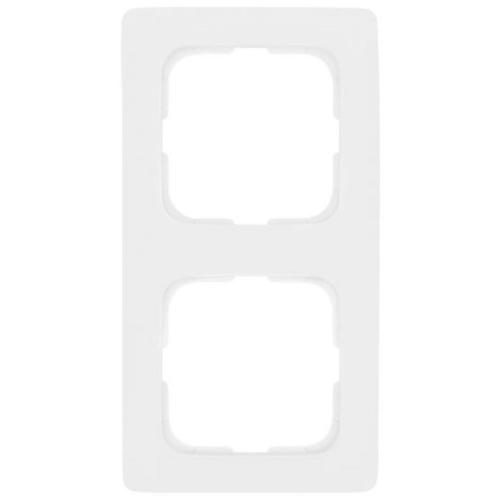 Abdeckrahmen, 2-fach, reinweiß, Klein SI®