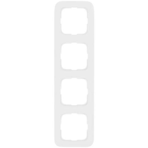 Abdeckrahmen, 4-fach, reinweiß, Klein SI®
