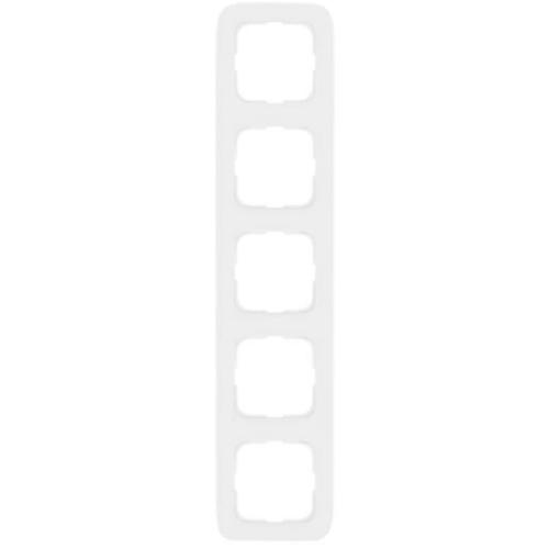 Abdeckrahmen, 5-fach, reinweiß, Klein SI®