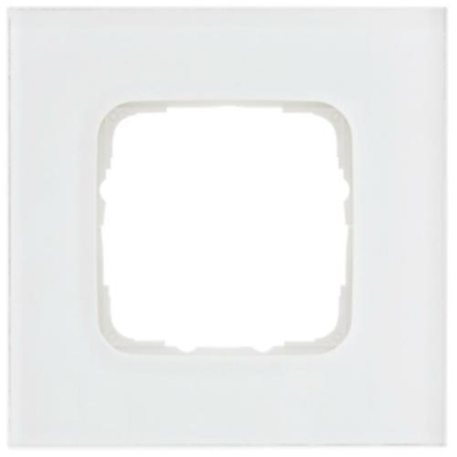 Abdeckrahmen, 1-fach, Glas klar, Klein SI®