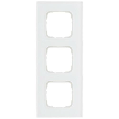 Abdeckrahmen, 3-fach, Glas klar, Klein SI®