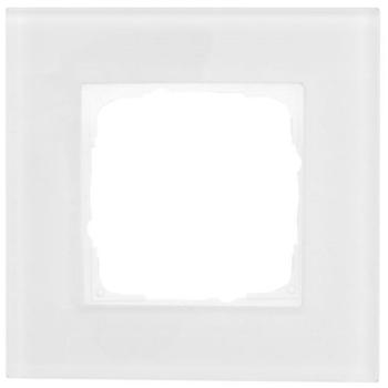 Abdeckrahmen, 1-fach, Glas klar, Klein K55