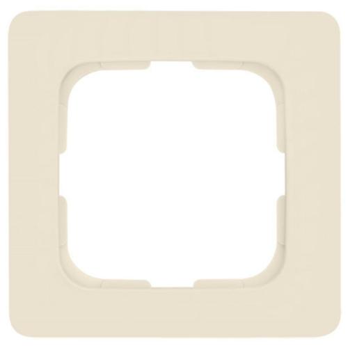 Abdeckrahmen, 1-fach, weiß, Linear, Klein SI®