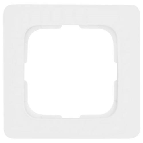 Abdeckrahmen, 1-fach, reinweiß, Linear, Klein SI®