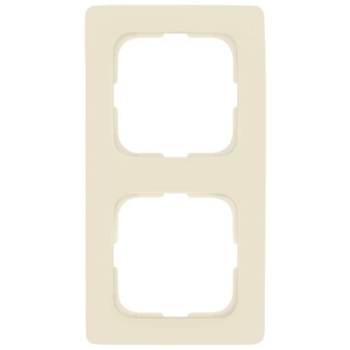 Abdeckrahmen, 2-fach, weiß, Linear, Klein SI®