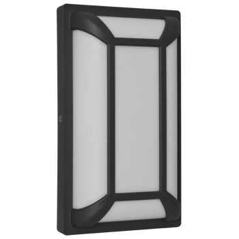 LED Außenwandleuchte mit Gitterverblendung,...