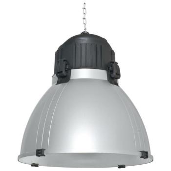 Hallentiefstrahler mit Metallreflektor, 1 x E27, Ivela