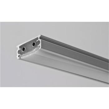 LED Lichtschiene 15 cm, Aluminium/opal, 24V/3W-3000K,...