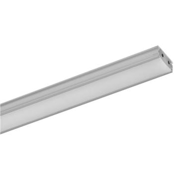 LED Lichtschiene 1 m , Aluminium/opal, 24V/15W-3000K,...