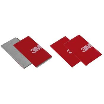 Magnetplatten mit Klebepads, Set 2 Stück, Sigor LUXI...