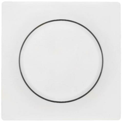 Kombi-Dimmerabdeckung, reinweiß, 4 mm, Klein 55®