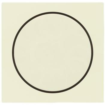 Gira Kombi-Dimmerabdeckung, cremeweiß, System 55
