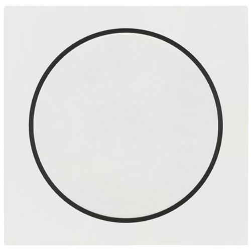 Gira Kombi-Dimmerabdeckung, reinweiß, System 55