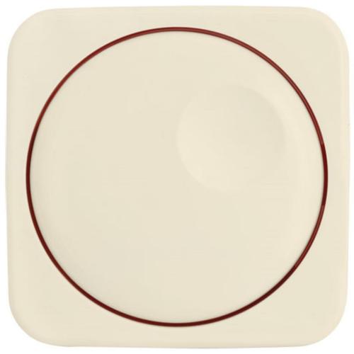 Kombi-Dimmerabdeckung, weiß, Klein SI®