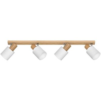 Schiene TREEHOUSE 4-fach, Holz Eiche 4 x E27