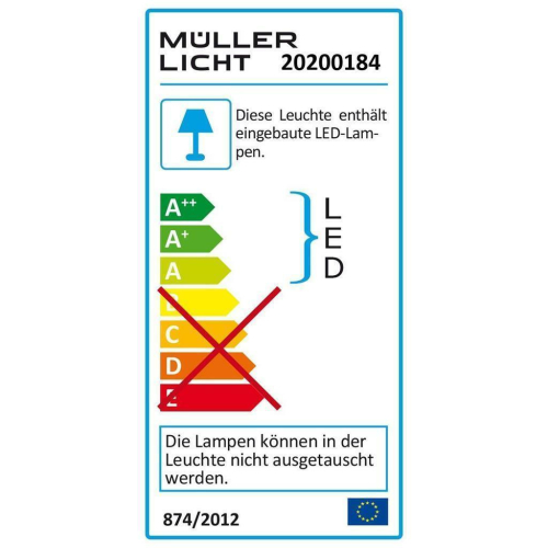 Badleuchte LOTIS SENSOR SWITCH TONE 60, LED/9,5W, 710/720/725 lm, 3000/4500/6500K
