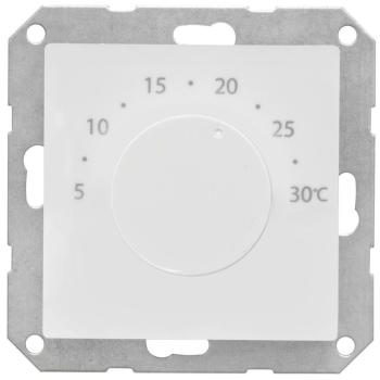 Elektronischer Raumthermostat mit Zentralplatte 55 x 55...