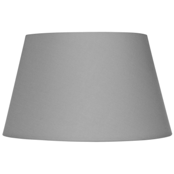 Leuchtenschirm Polyester/Baumwolle grau, E27
