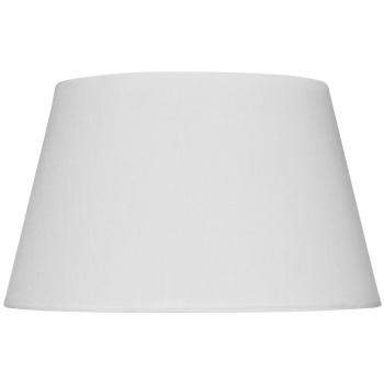 Leuchtenschirm Polyester/Baumwolle weiß E14