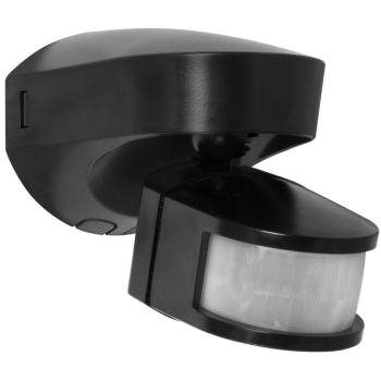AP Bewegungsmelder, schwarz, Erfassungswinkel 180° IP55