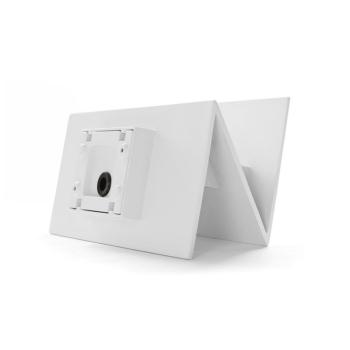 Außenwandleuchte weiß, LED/15W, 576 lm,...