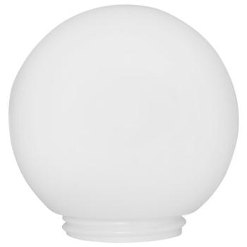 Glaskugel mit Gewinde, max. 100W, opal