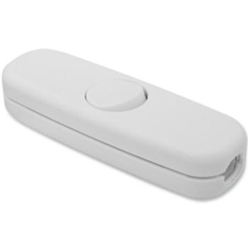 Schnurschalter, 3(2)A, 1-polig, weiß