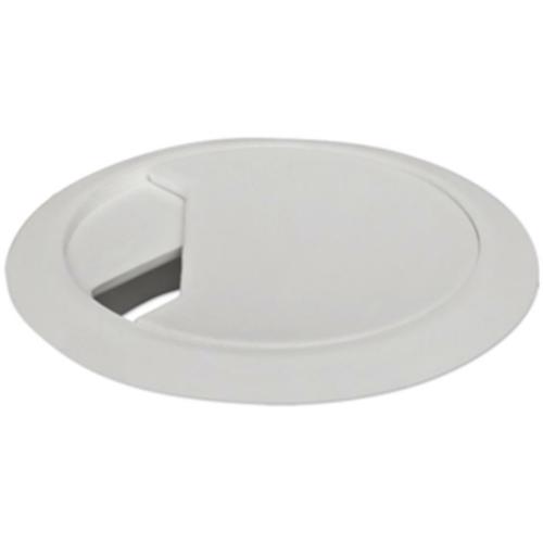 Kabeldurchführung für Tischplatten, weiß