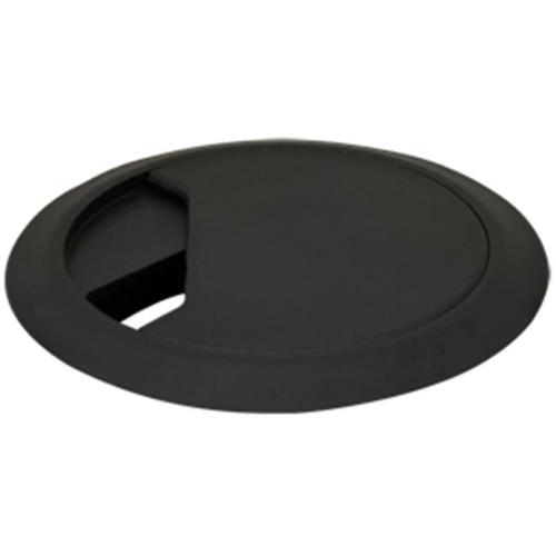 Kabeldurchführung für Tischplatten, schwarz