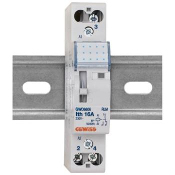 Relais für Reiheneinbau, 16A, 8V/AC, 1 Wechsler
