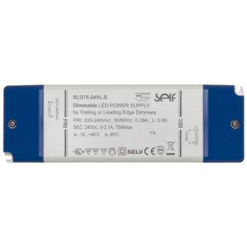 LED Netzteil 24V-DC/12-75W, IP20, dimmbar