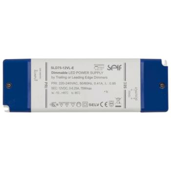 LED Netzteil 12V-DC/12-75W, IP20, dimmbar