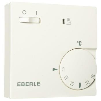Eberle Raumthermostat mit Schalter, reinweiß 2000...