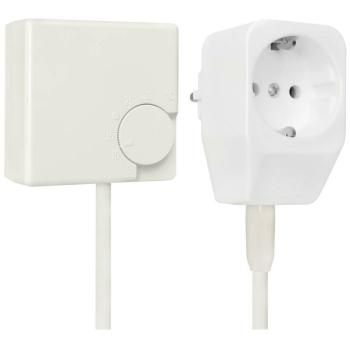 Eberle Steckdosenthermostat, weiß RTR-E 3311