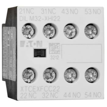 Hilfsschalter zu Leistungsschutz DIL, 2 Schließer/2...