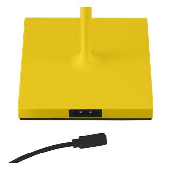 LED Akku-Tischleuchte NUINDIE gelb  für Außen...