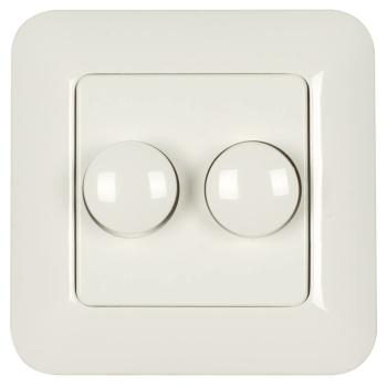 UP-Doppeldimmer, 2 x 15-110W/VA, 2 x 5-40W/LED,...
