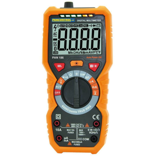 Digital-Multimeter PAN 186 CAT III 600V/CAT IV 1000V